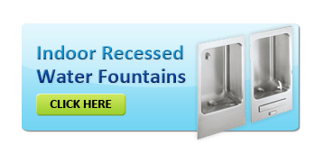 Indoor Recessed Drinking Water Fountains