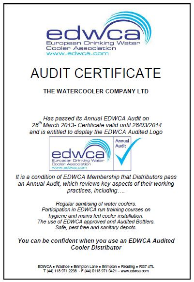 The Water Cooler Company EDWCA