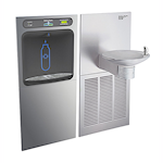 Hydroboost Vandal Resistant (Green Spec) Drinking Fountain and Bottle Filling Station