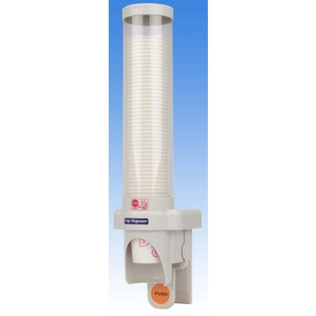 one touch water cooler cup dispenser