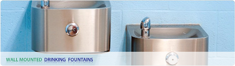 A Wide Range of Indoor and Outdoor Wall Mounted Drinking Fountains