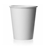 Paper Cup, 7oz, White (per box of 1000)