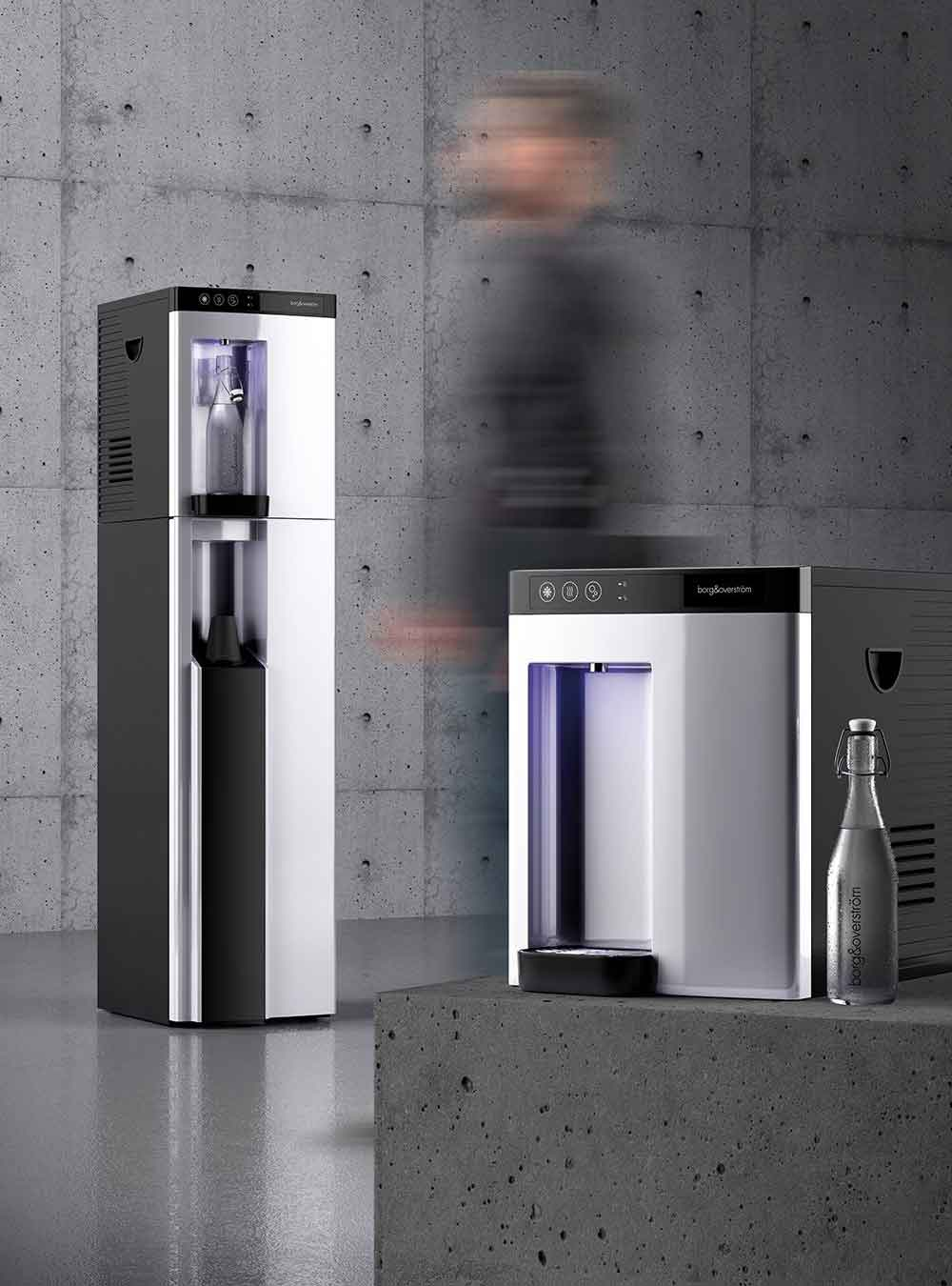 Borg B4 Direct Chill Sparkling Floor Standing