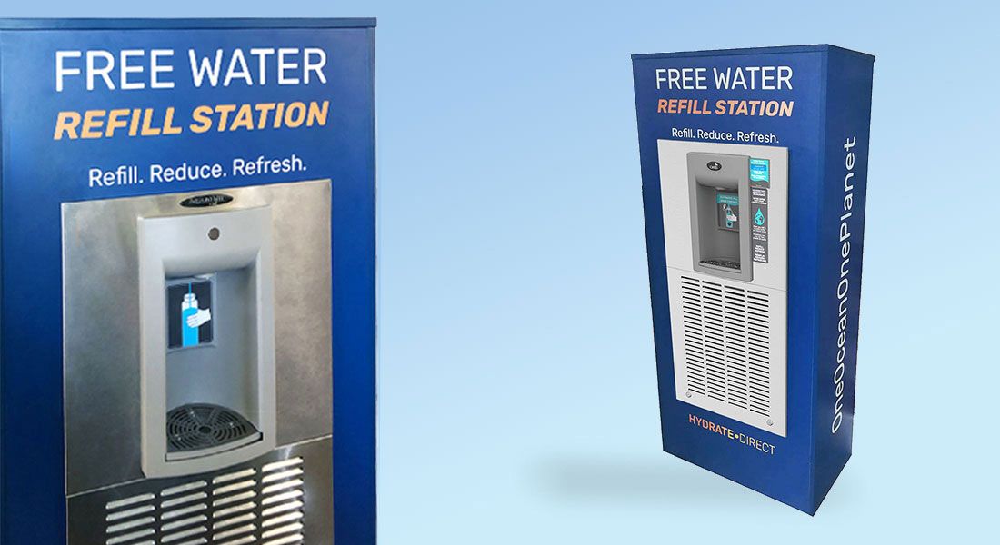 Hydrate Direct Refill Station