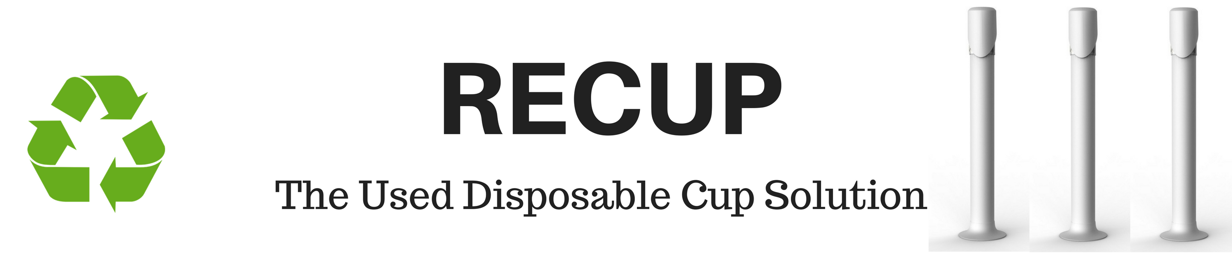 The Used Disposable Water Cup Solution