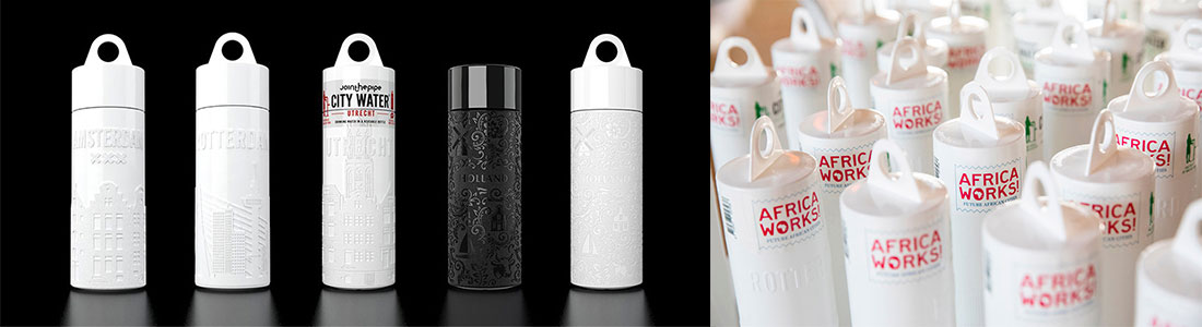 Sustainable water bottles