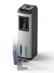 Kalix Contactless Floor Standing Mains-fed Water Cooler with UV Filtration