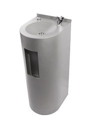 The Dual Drinking Fountain with Bottle Filling Station - Junior Height