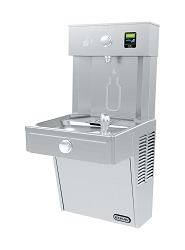 Elkay LVRC8WS2K Filtered EZH2O Bottle Filling Station and Drinking Fountain