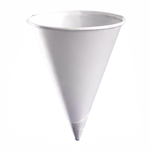 Paper Cones, 4oz (per box of 5000)