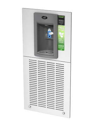 Oasis MW8EBFY Aqua Pointe Hands-free Recessed Refrigerated Bottle Filler with Counter