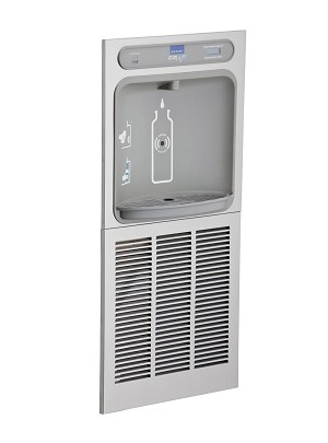 Elkay LZWSM82K Filtered EZH2O In-Wall Recessed Bottle Filling Station