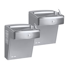 Oasis PV8ACSLY Vandal Resistant Split Level Wall Mounted Water Fountain (Barrier Free)