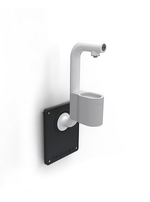 Join the Pipe Wall Mounted Bottle Refill Station with Drip Tray