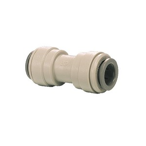 "JG Straight Connector 1/4"" PF x 1/4"" PF"